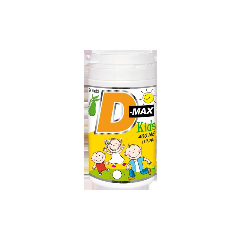 D-MAX KIDS rágótabletta, 90db