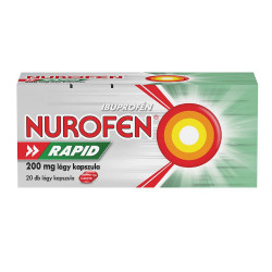 Nurofen 200 mg rapid lágy kapszula 20x