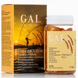 GAL Omega-3 Eco lágyzselatin-kapszula, 60x