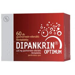 DIPANKRIN OPTIMUM 120 mg gyomornedv-ellenálló filmtabletta 60 db