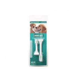 Emmi-pet A1/A2 - cserélhető ultrahangos fogkefe-fejek (1+1)