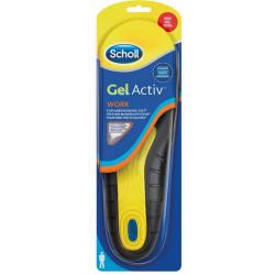 Scholl GelActiv Work talpbetét (1pár) - Fizikai munkához - Férfi (méret: 40-46.5)