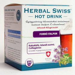 Herbal Swiss Hot Drink instant italpor 24db