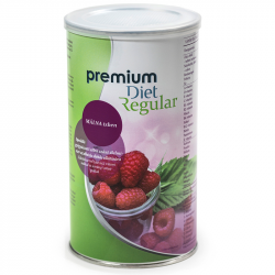 Premium Diet Regular - málna ízű