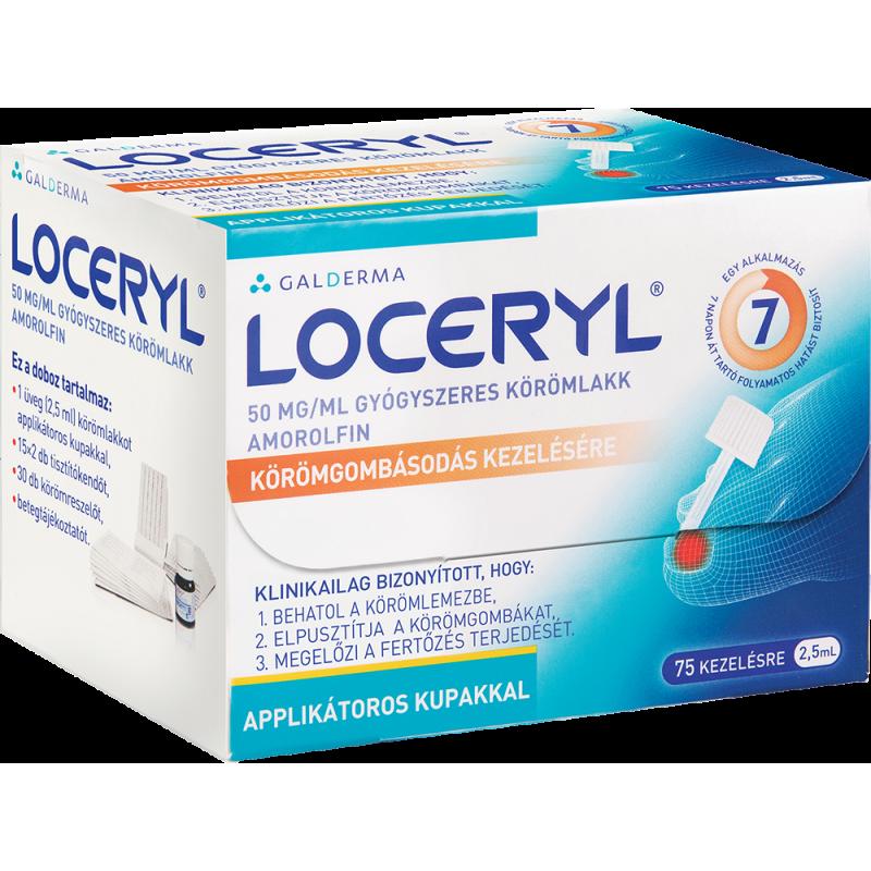 LOCERYL 50 mg/ml gyógyszeres körömlakk