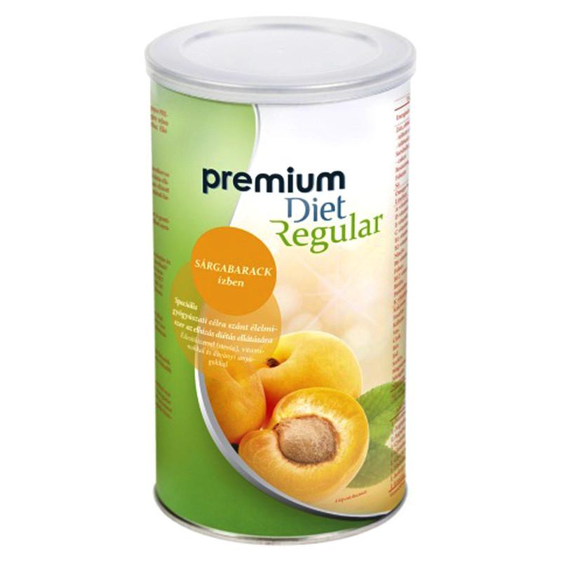 Premium Diet Regular - sárgabarack ízű