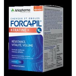 Forcapil erősítő Keratin + kapszula hajra
