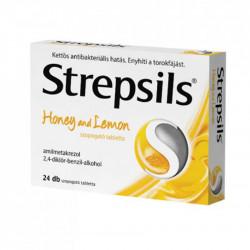 Strepsils mézes-citromos szopogató tabletta