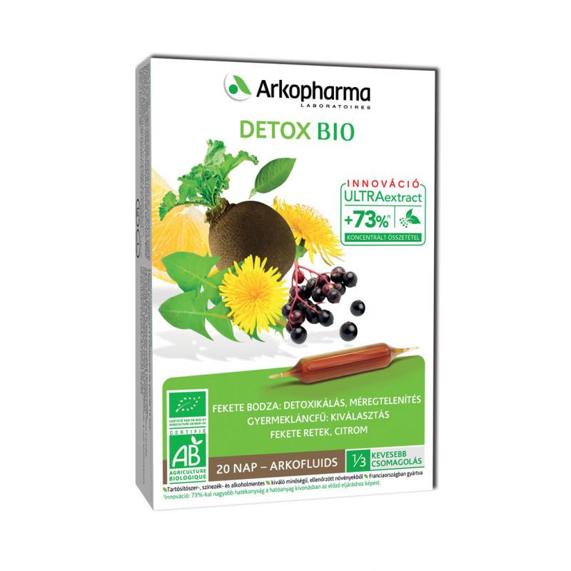 Arkofluids Bio Detox ampulla, 20x