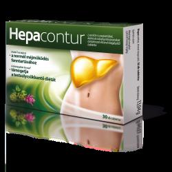 Hepacontur étrend kiegészítő kapszula
