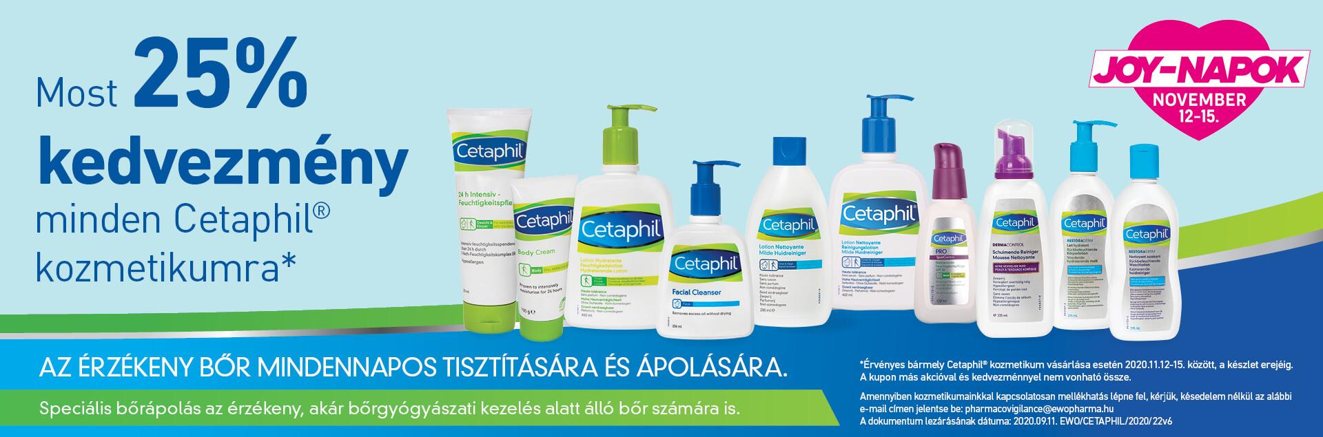 Cetaphil termékek akció